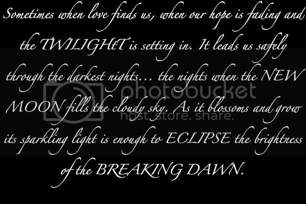 Twilight Quote. Pictures, Images and Photos
