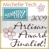 Stampin Up Artisan Award Finalist